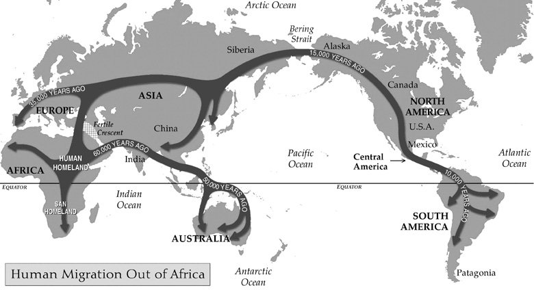 out of africa thesis on human origins Human evolution: a look at our ancestors: human evolution: you try it: tryit/evolution archaeology info (for advanced readers only): 5 inform the class that there is an ongoing debate in the anthropological community about the process.